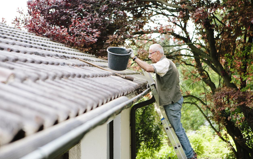 Roof maintenance tips.