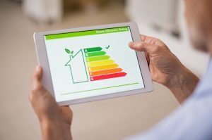 Home energy audit.