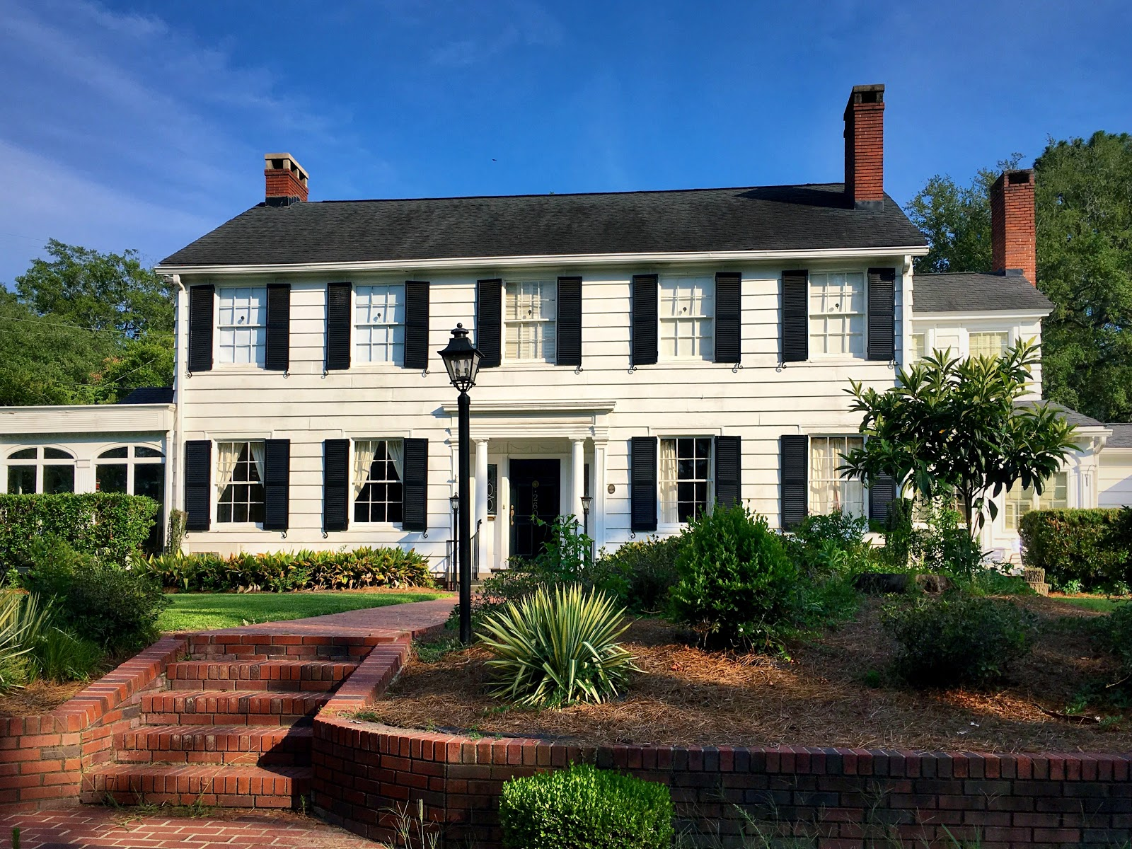 1900s colonial home.